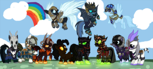pony mounts