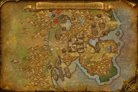how to get to shadowmoon valley