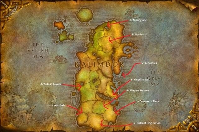 WorldMap-Kalimdor