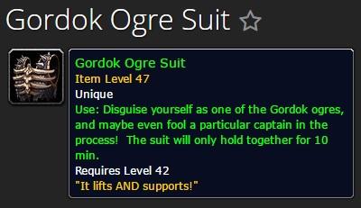 Gordok Ogre Suit