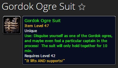 Gordok Ogre Suit