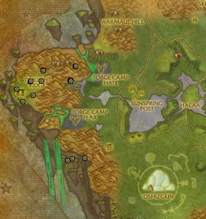 Mana Thistle in Nagrand