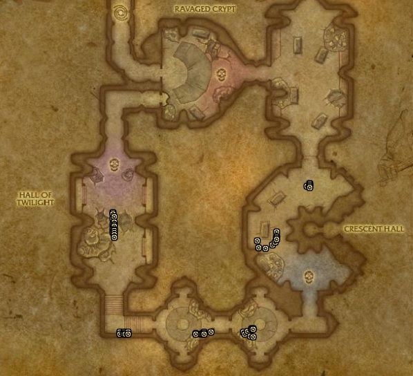Nexus Terror in The Mana Tombs for Motes of Shadow