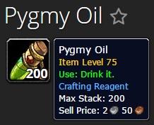 Pygmy Oil