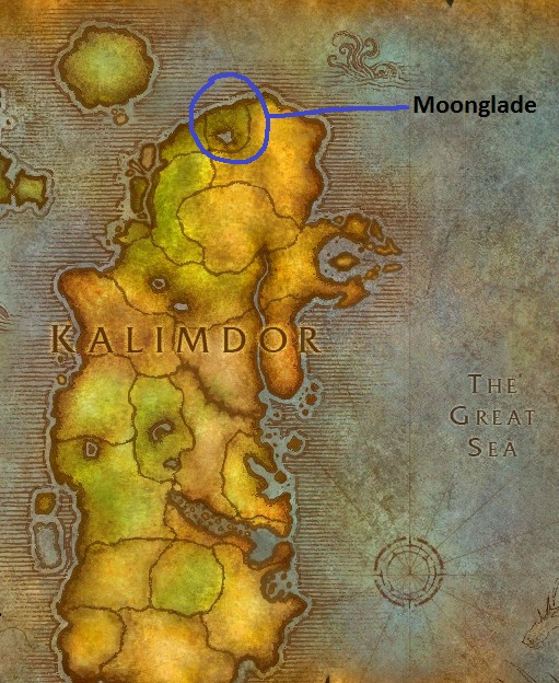 Where is Moonglade