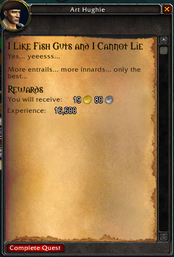 i like fish guts and i cannot lie