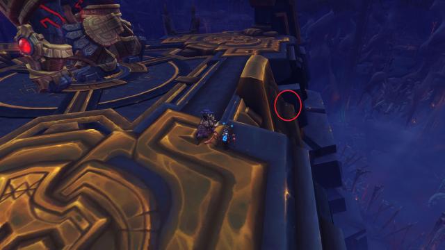 location of scroll