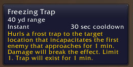 trap info
